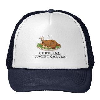 Official Turkey Carver Trucker Hats