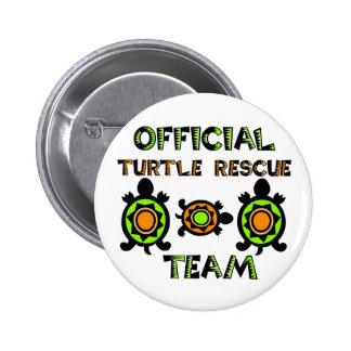 Official Turtle Rescue Team 1 6 Cm Round Badge