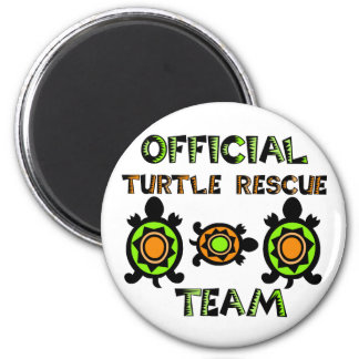 Official Turtle Rescue Team 1 6 Cm Round Magnet