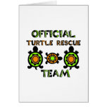 Official Turtle Rescue Team 1 Greeting Card
