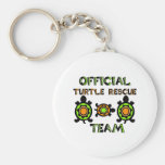 Official Turtle Rescue Team 1 Key Chain