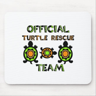 Official Turtle Rescue Team 1 Mouse Mat