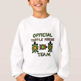 Official Turtle Rescue Team 1 Sweatshirt