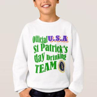Official U.S.A St Patrick's drinking team Sweatshirt