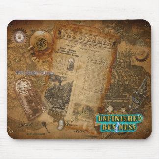 Official UnBiz Steampunk Movie Merchandise (teal) Mousepads