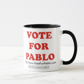 Official Vote For Pablo Ringer Mug