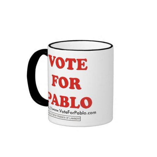 Official Vote For Pablo Ringer Mug