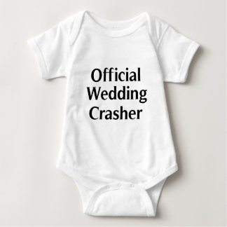 Official Wedding Crasher 1 Baby Bodysuit