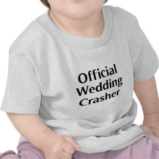 Official Wedding Crasher 1 Tee Shirts