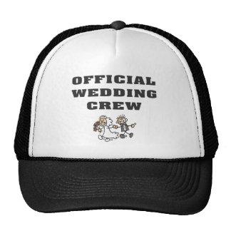 Official Wedding Crew Trucker Hats