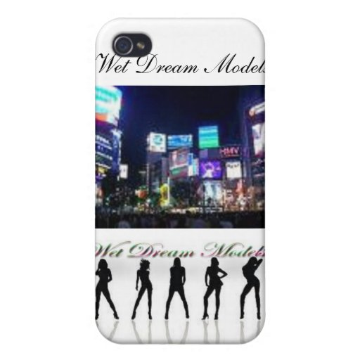 official wet dream models phone case iPhone 4/4S case
