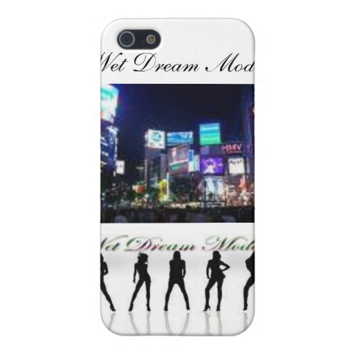 official wet dream models phone case iPhone 5 cases