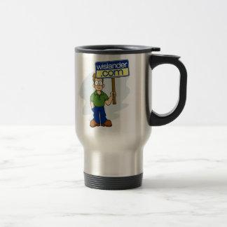 Official Wislander com Sign Boy Mug