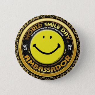 Official World Smile Day® 2014 Ambassador Button