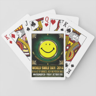 Official World Smile Day® 2014 Playing Cards