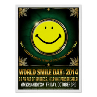 Official World Smile Day® 2014 Poster