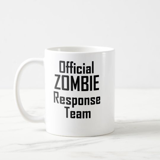 Official Zombie Response Team Coffee Mug