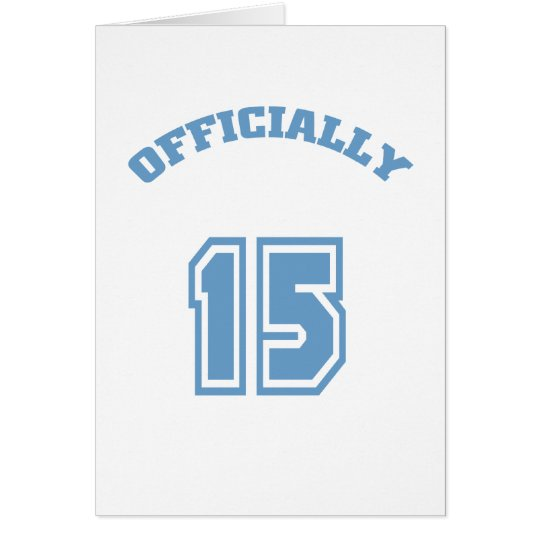 Officially 15 card