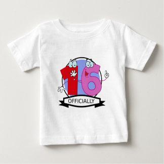Officially 16 Birthday Banner Shirt