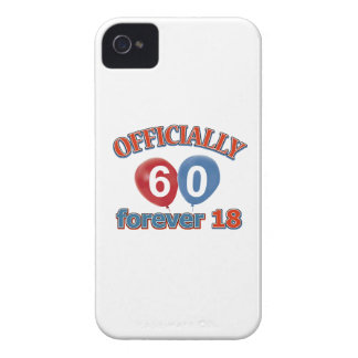 Officially 60 forever 18 Case-Mate iPhone 4 case