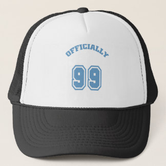 Officially 99 trucker hat