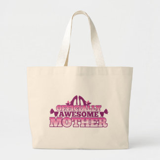 Officially AWESOME Mother! with shoes cool! from J Jumbo Tote Bag