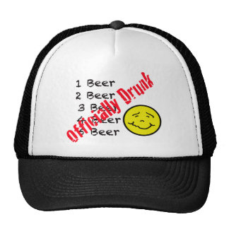 Officially Drunk Mesh Hat