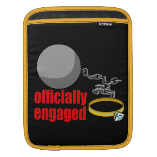 Officially Engaged iPad Sleeve