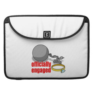 Officially Engaged MacBook Pro Sleeves