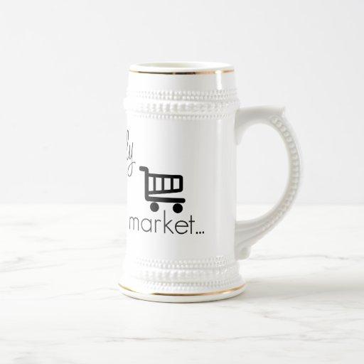 Officially off the Market- Funny Wedding Design Mug