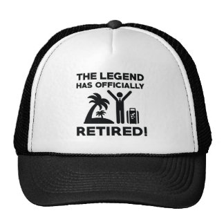 Officially Retired Cap