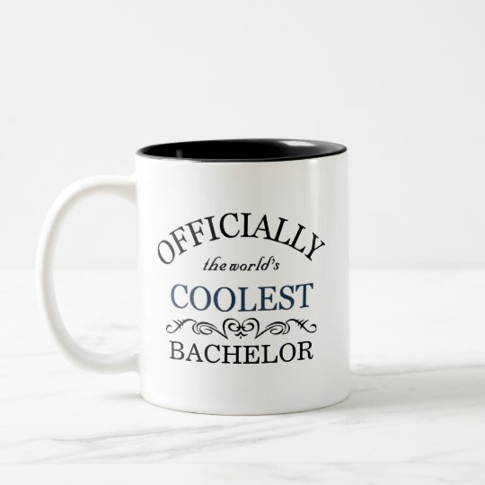 Officially the world's coolest Bachelor Two-Tone Coffee Mug