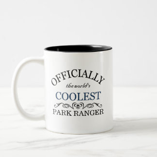 Officially the world's coolest Park Ranger Two-Tone Mug