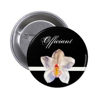 Officiant Wedding ID Badge