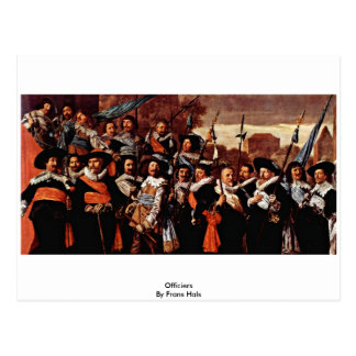 Officiers  By Frans Hals Post Cards
