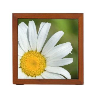 Offset Daisy Flower Desk Organizer
