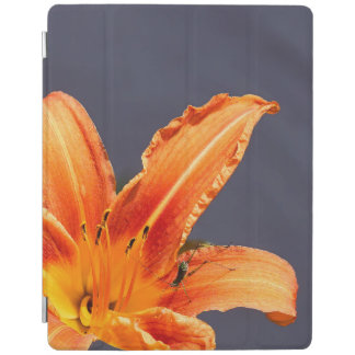 Offset Day Lily With Critter iPad Smart Cover