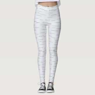 offset stripe leggings