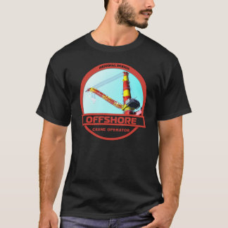 Offshore Crane Operator - Black T-Shirt