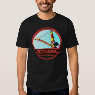 Offshore Crane Operator - Black Tshirt