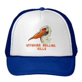 Offshore Drilling Kills Wildlife Tshirts Trucker Hat