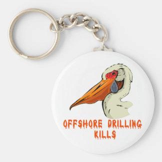 Offshore Drilling Kills Wildlife Tshirts Keychains