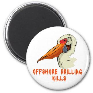 Offshore Drilling Kills Wildlife Tshirts Refrigerator Magnet