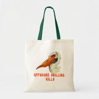 Offshore Drilling Kills Wildlife Tshirts Bag