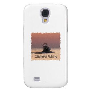 Offshore Fishing Boat Logo Galaxy S4 Case