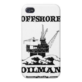 Offshore Oilman,Oil,Gas,Platform,Drilling Rigs iPhone 4/4S Case
