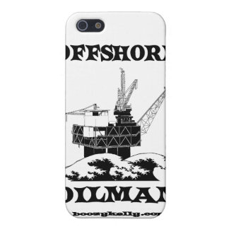 Offshore Oilman,Oil,Gas,Platform,Drilling Rigs iPhone 5 Cover