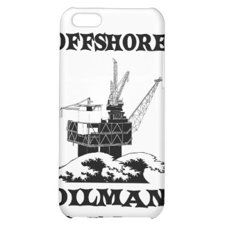 Offshore Oilman,Oil,Gas,Platform,Drilling Rigs iPhone 5C Covers