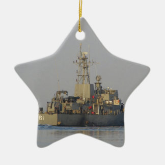 Offshore Patrol Boat Ceramic Star Decoration
