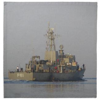 Offshore Patrol Boat Napkin